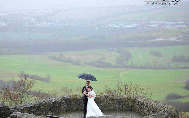 Es regnet am Hochzeitstag, dazu noch unser Fotograf ist krank!